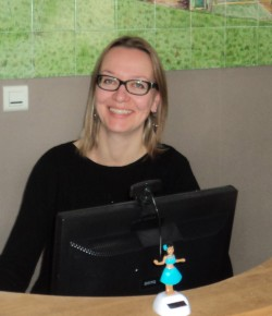 Stephanie Head of Reception Le Moulin Hotel